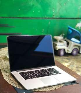 Macbook Pro 15inch Retina Corei7 Ram 8gb SSD 256GB Nvidia Full Editing Apps