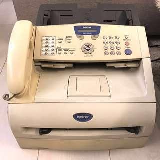 Brother FAX-2820 普通紙傳真機/影印機/打印機