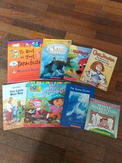 Assorted Softcover Children's Books (Early Readers)