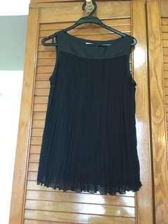 Black two-pieces dress