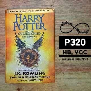Harry Potter and the Cursed Child (hardbound)