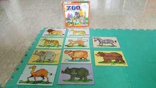 🚚 Animal puzzles creative