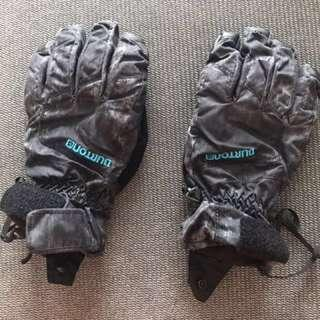 Burton Profile snowboard ski gloves Goretex