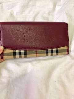Burberry Long Wallet
