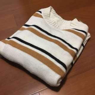 🚚 條文針織衣