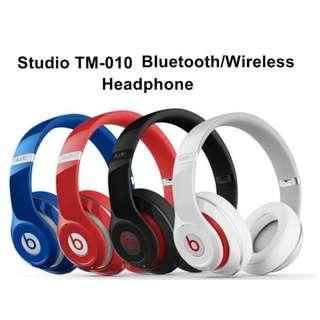 Wireless Studio TM-010 Headphone with wired or Bluetooth