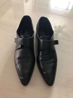 Zara chunky heel shoe