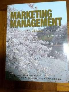 """"""" Marketing management: an Asian perspective"""" 4th edition, 全新未用過。"""