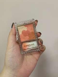 Canmake 花花胭脂 03  橙