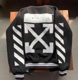 OFF- WHITE Varsity Jacket
