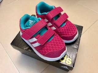 Adidas 女童波鞋 (連盒)