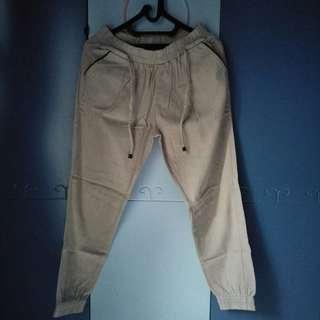Jogger Pants (abu-abu)