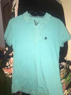 polo shirt blue osella
