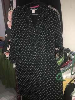 H&M black dress hnm