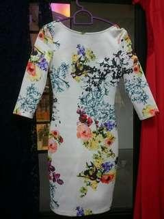 Doublewoot floral neoprene dress #CarousellFaster