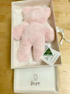 澳洲Britt Bear扁扁熊 (連盒)