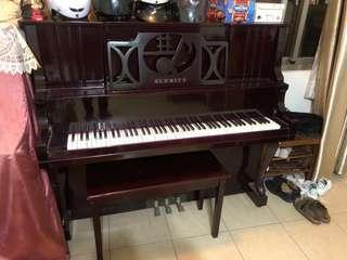 免費~SCHMITT古典鋼琴(含鋼琴椅)