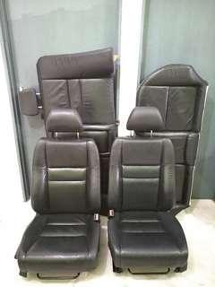 Full Black Honda Civic FD FD1 Leather Seat