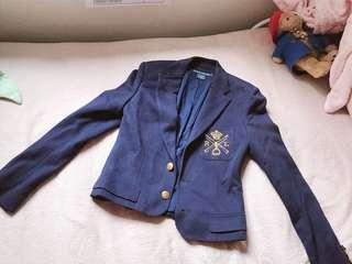 Ralph Lauren women blazer navy jacket