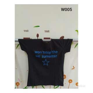 全新商品 T恤LOGO字樣 (黑色)