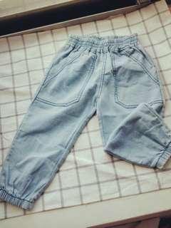 🚚 【全新】兒童縮口褲
