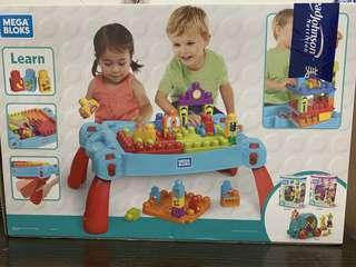 Mega Bloks 積木枱(可收起)