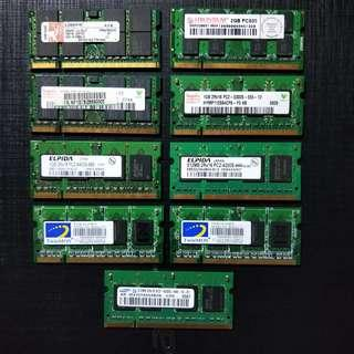 DDR2 Laptop RAM