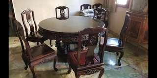 Old Roswood 8 seater dining set Furniture