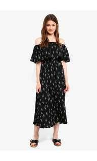 🚚 Off Shoulder Midi Dress
