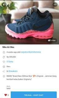 Transaksi Sebelumnya : NIKE AIR MAX