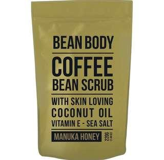 Bean body咖啡豆身體磨砂-麥盧卡蜂蜜味