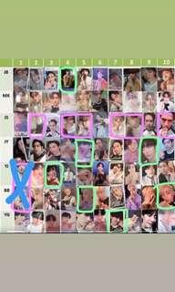 {WTT/WTS} Got7 Present You/ Present You & me photocards