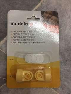 Medela breast pump valves and membranes