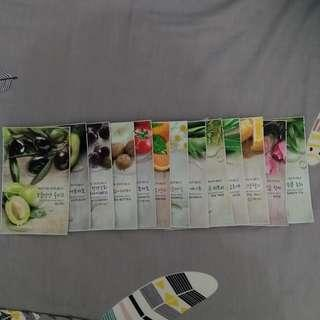 MASKER WAJAH KOREA NATURE REPUBLIC FACE MASK SHEET