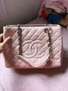 Chanel gst pink bag women 100% real 香奈兒