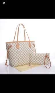 LV Neverfull handbag
