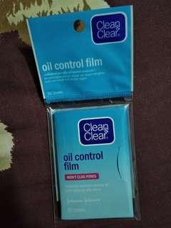 Clean&Clear oil control film #dibuangsayang