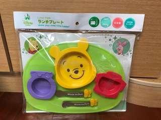 🚚 日本製維尼餐具組