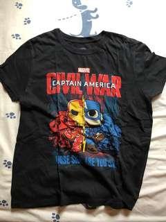 Avengers marvel tshirt kaos pria