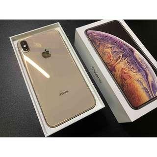 iPhoneXs Max 64G 金色 漂亮無傷 超極新 只要33000 !!!