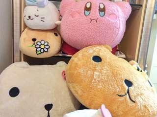 🚚 日本帶回 娃娃出清 水豚君 星之卡比