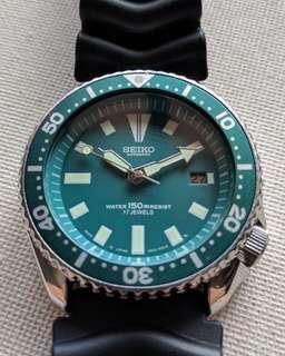 Modified Seiko 7002 7000 Automatic Divers Watch