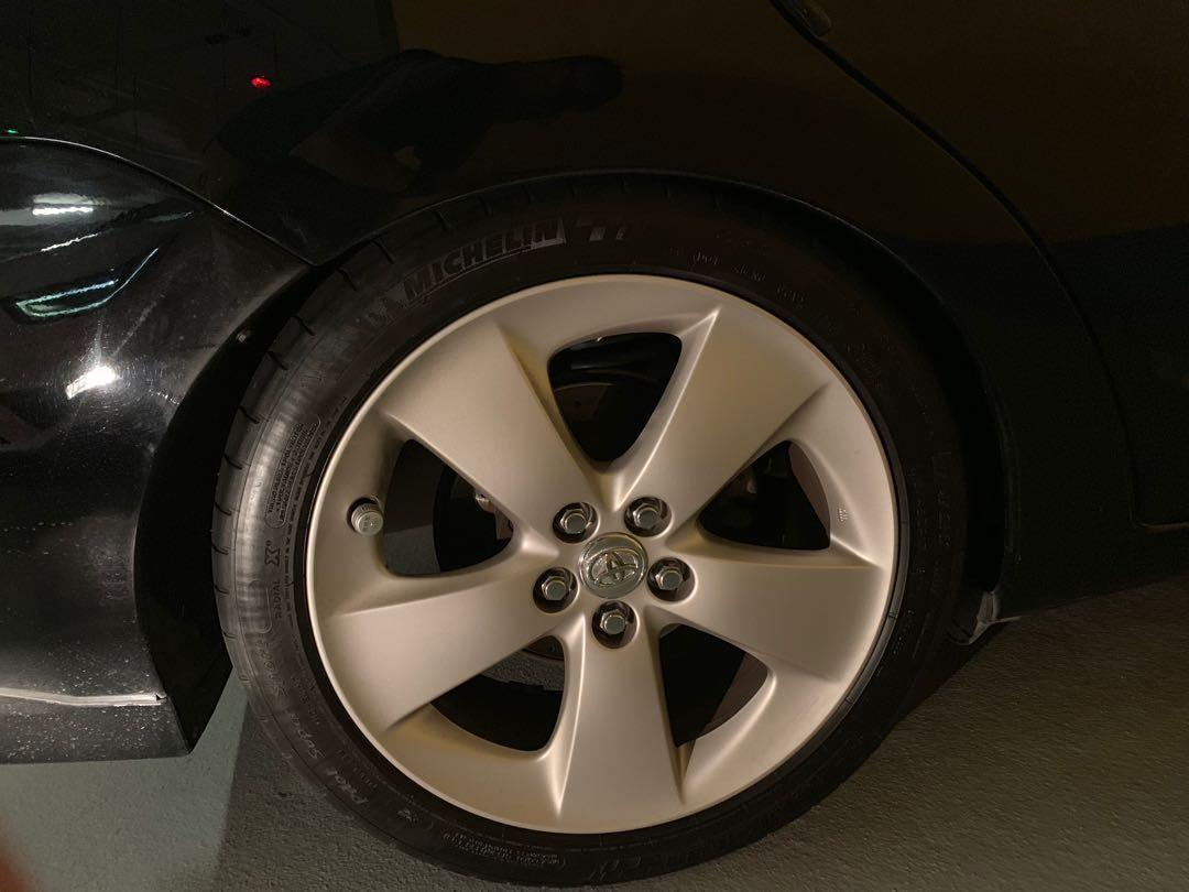 17寸豐田Prius原廠合金呤