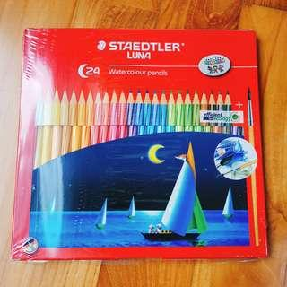 🚚 Watercolour pencils Staedtler Luna