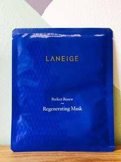 Laneige Perfect Renew Regenerating Mask (1-pc)