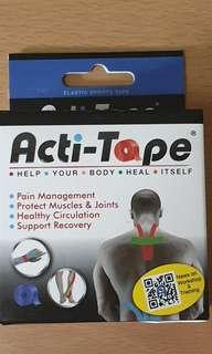 Kinesiology Tape - Acti Tape (free insole Womens 7-8)