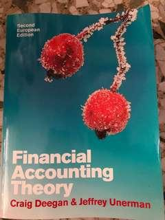 Financial Accounting Theory - Craig Deegan & Jeffrey Unerman (2nd European Edition)