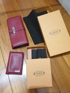 Tods Wallet N Card Holder