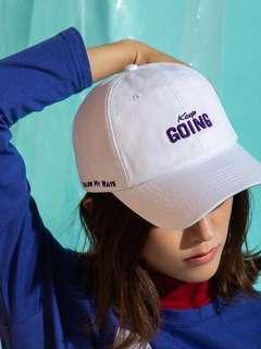 Keep Going鴨舌帽 白色♥️ White Cap