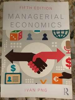 Managerial Economics - Ivan PNG (5th Edition)